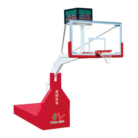 高级电动遥控液压篮球架 LW-F2