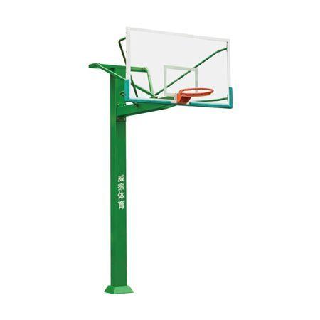 地埋大方管篮球架 LW-009-1