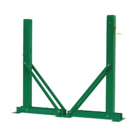 标准活动式铝合金网柱